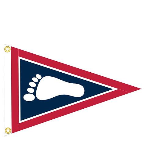 Barefoot Sailing Club Burgee