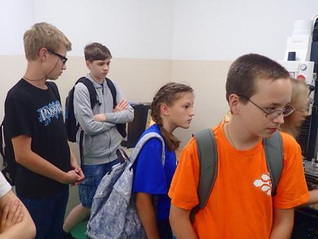 Школьники побывали на экскурсии в ЦМИТ.