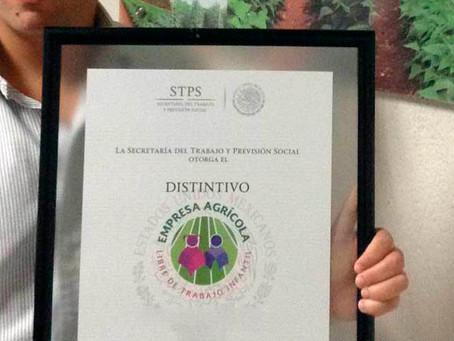 Distintivo Empresa Agrícola Libre de Trabajo Infantil (DEALTI)
