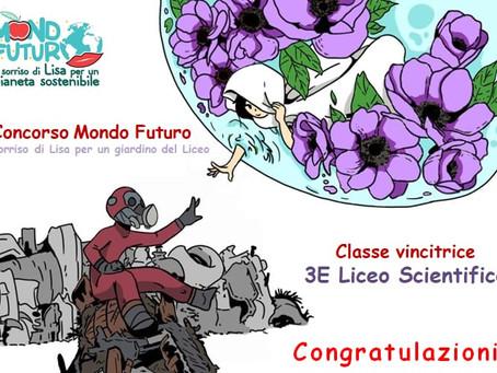 """Premiazione del Concorso """"Mondo Futuro - Il sorriso di Lisa per un giardino del Liceo"""""""