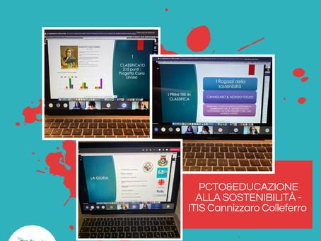 Evento finale e premiazione progetto PCTO&EDUCAZIONE ALLA SOSTENIBILITÀ- ITIS Cannizzarro Colleferro