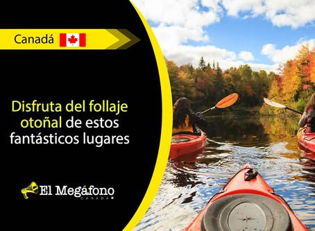 Realiza un viaje por los lugares más increíbles de Canadá en época de otoño