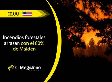 Fuertes incendios causan grandes estragos en Washington, California y Oregon