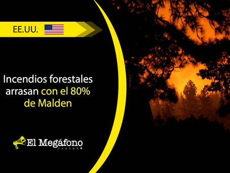 Fuertes incendios causan grandes estragos en Washington, California y Oregon