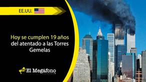 Nueva York conmemora el 19 aniversario de los atentados del 11 de septiembre de 2001