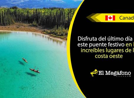 Aprovecha el verano para practicar kayak en estos mágicos lugares de Canadá