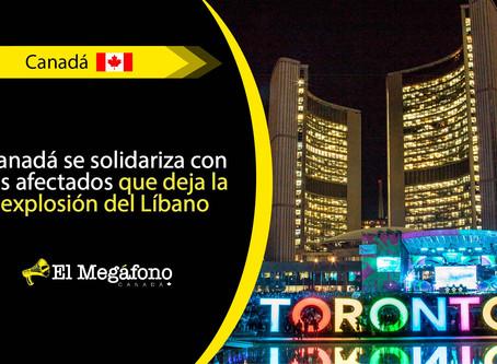 Toronto atenuará su letrero como homenaje a las víctimas de Beirut