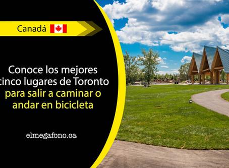 Disfruta de los senderos más cómodos de Toronto para andar en bicicleta