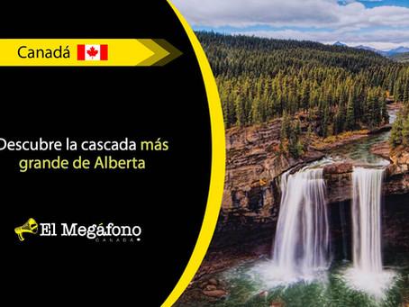 Kakwa Falls, una de las cascadas más impresionantes de Canadá