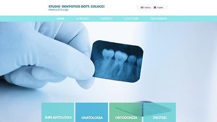 Studio Dentistico Colucci  Sito dello studio dentistico Colucci di Napoli