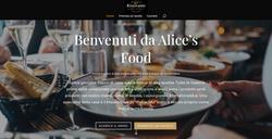 Luxy Web Design sviluppi sito web ristorante