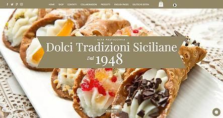 DolciTradizioniSiciliane  E-commerce dellostorico marchio di alta pasticceria