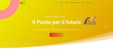 """Il ponte per il futuro  Sito della associazione """"Il Ponte per Il Futuro"""""""