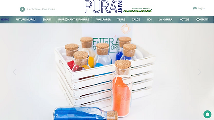 PuraPaint  Sito dell'azienda di pitture bio naturali