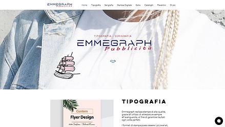 Emmegraph Pubblicità  Sito della Serigrafia/TipografiaEmmegraph