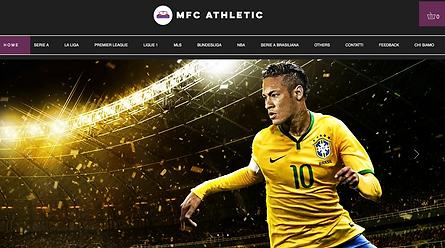 MFC Athletic  E-commerce di abbigliamento sportivo.