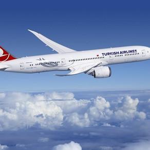 Turkish Airlines disponibiliza novos serviços a bordo