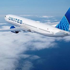 United Airlines encomenda mais 200 aviões Boeing 737 MAX