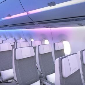 Airbus cria sistema de desembarque organizado com iluminação