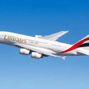 Emirates retomará operação diária Dubai-São Paulo com A380