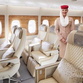 Emirates volta com voo diário do Brasil a partir de outubro