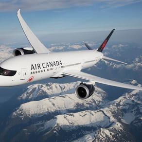 Air Canada volta a voar para o Brasil em 2 de setembro