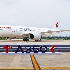 Airbus entrega primeiro A350 de seu centro de conclusão na China