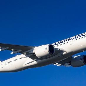 Air France recebe seu 10º Airbus 350-900