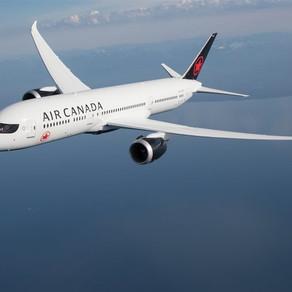 Air Canada retomará operações diárias entre SP e Toronto em dezembro