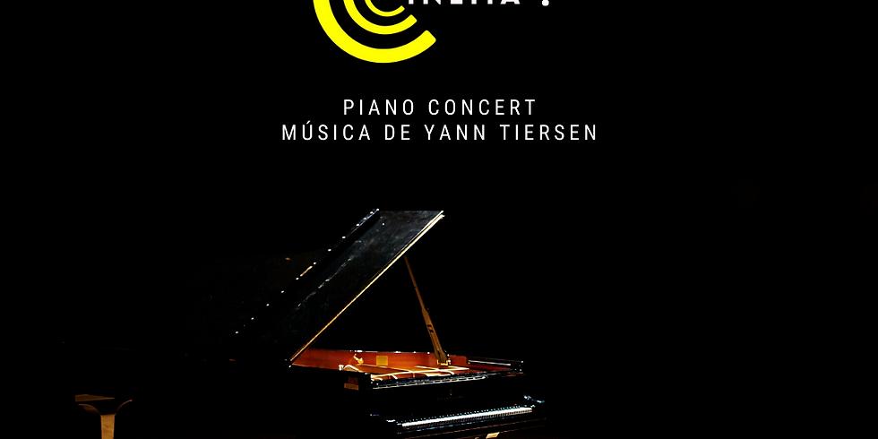 Música de Yann Tiersen a piano, Streaming Concert