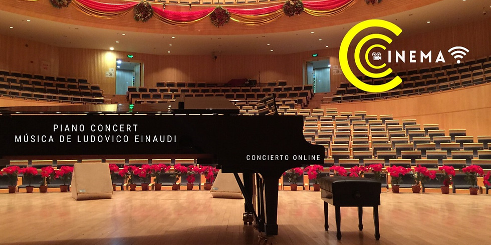 Piano Concert: Música de Joe Hisaichi, Concierto Online