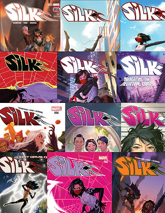 COMPLETE SET: of Tana Ford Silk Comics (12 issues)