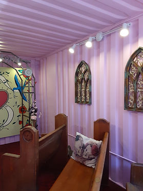 Shipping Container Chapel