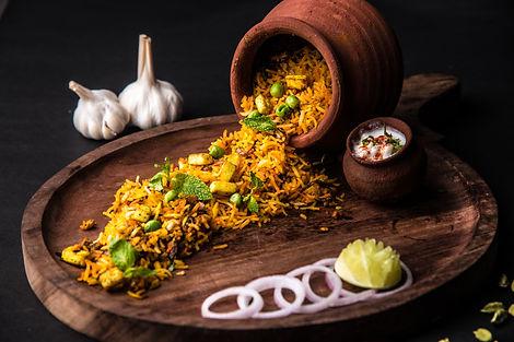 Veg Biryani Food photography by ZoomMantra