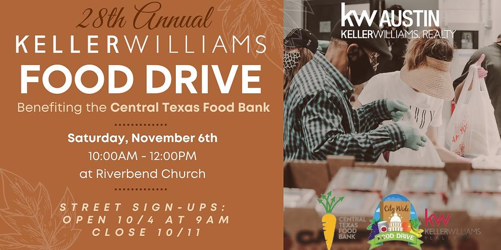 KW Annual Food Drive