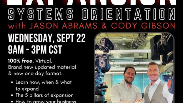 Free ESO training with Jason Abrams and Cody Gibson