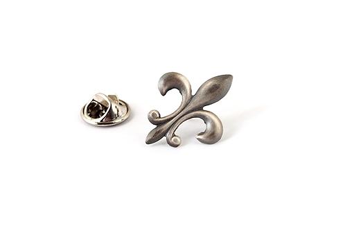 Sterling Silver Flordeliz Pin