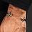 Thumbnail: Double Sword Sterling Silver Bangle Bracelet