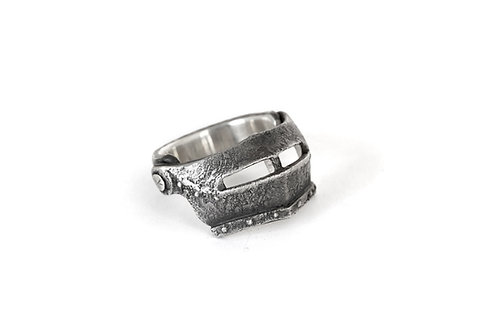 Knight Helmet Ring