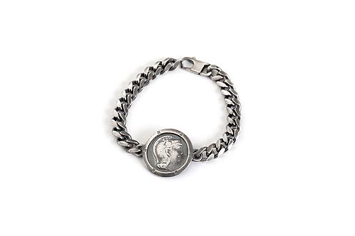 Roman Coin Replica Chain Bracelet