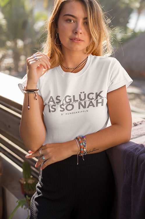 "T-Shirt ""Glück"""
