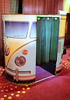 Glimmerbooth Photo Booth Hires Retro VW Camper van Booth