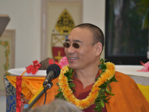 Khentrul Rinpoche will return to Kauai