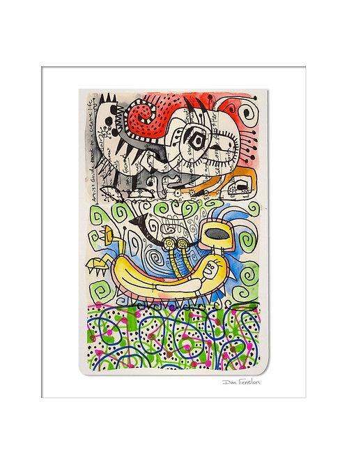 Drawing Print 12