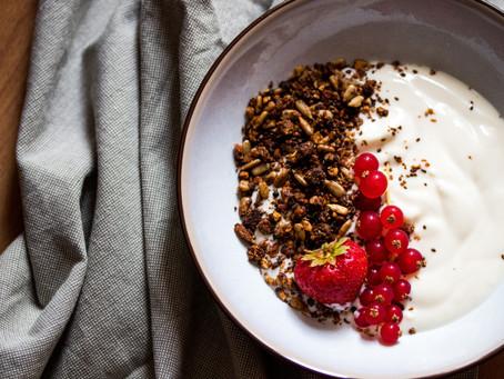 Dark Chocolate Sea Salt Granola Recipe