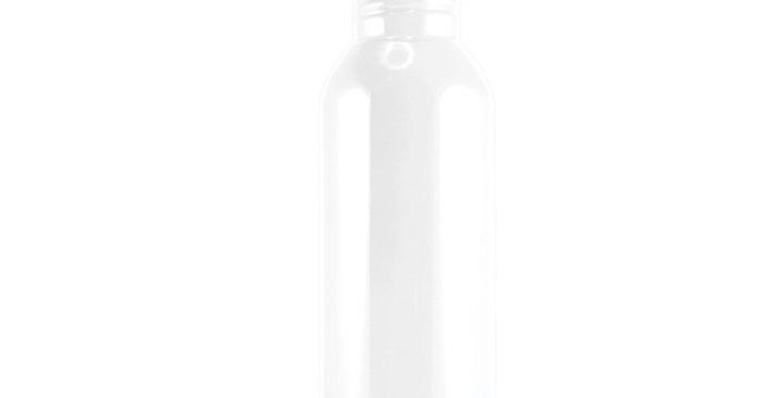 White Stainless Steel Sports Bottle