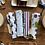 Thumbnail: Six Piece Bamboo Cutlery Set w/toothbrush