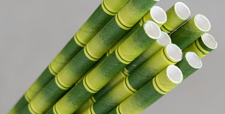 Bamboo Paper Eco Straws