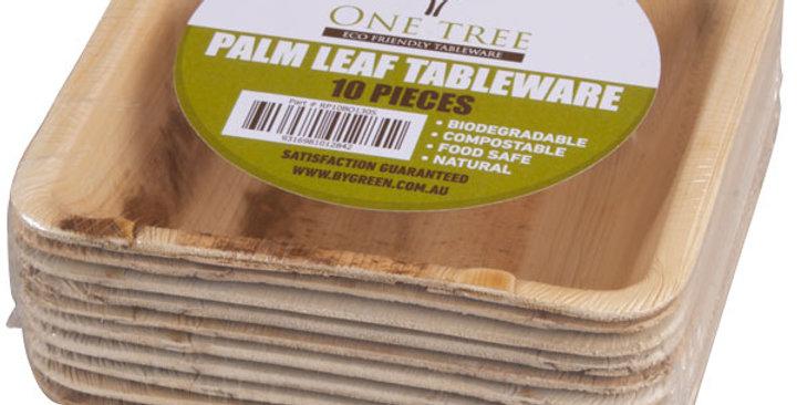 Palm Leaf Eco Bowl Square 130mm