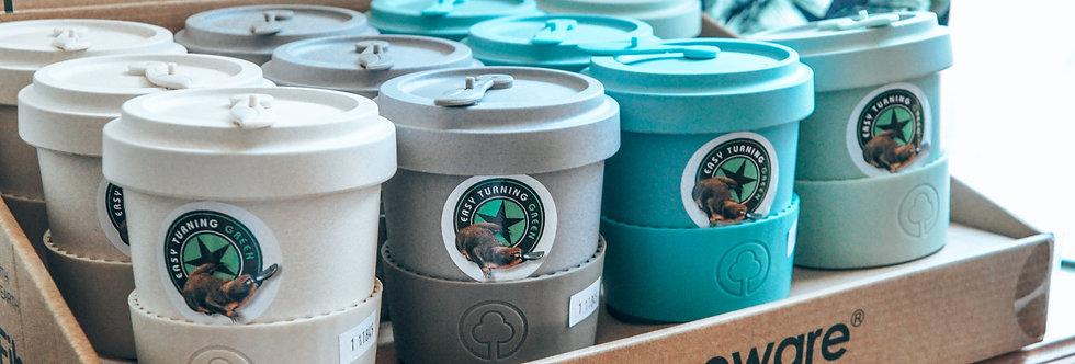 Bamboo Fibre Reusable Coffee Cup